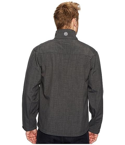 Print with Roper Black Textured Back Fleece 1319 OaWxRq7