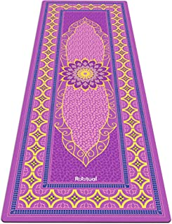 Reetual, The Yoga Mat That Adores Sweat | Premium Hot Yoga Mat Non Slip Towel Combo - with Carrying Strap | Eco Friendly | Designed for Bikram, Hot Yoga, Ashtanga, Vinyasa, Power