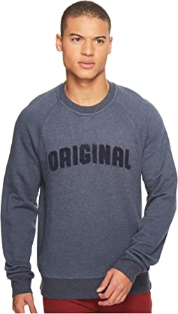 Original Penguin - Vintage Gym Long Sleeve Boucle Sweatshirt
