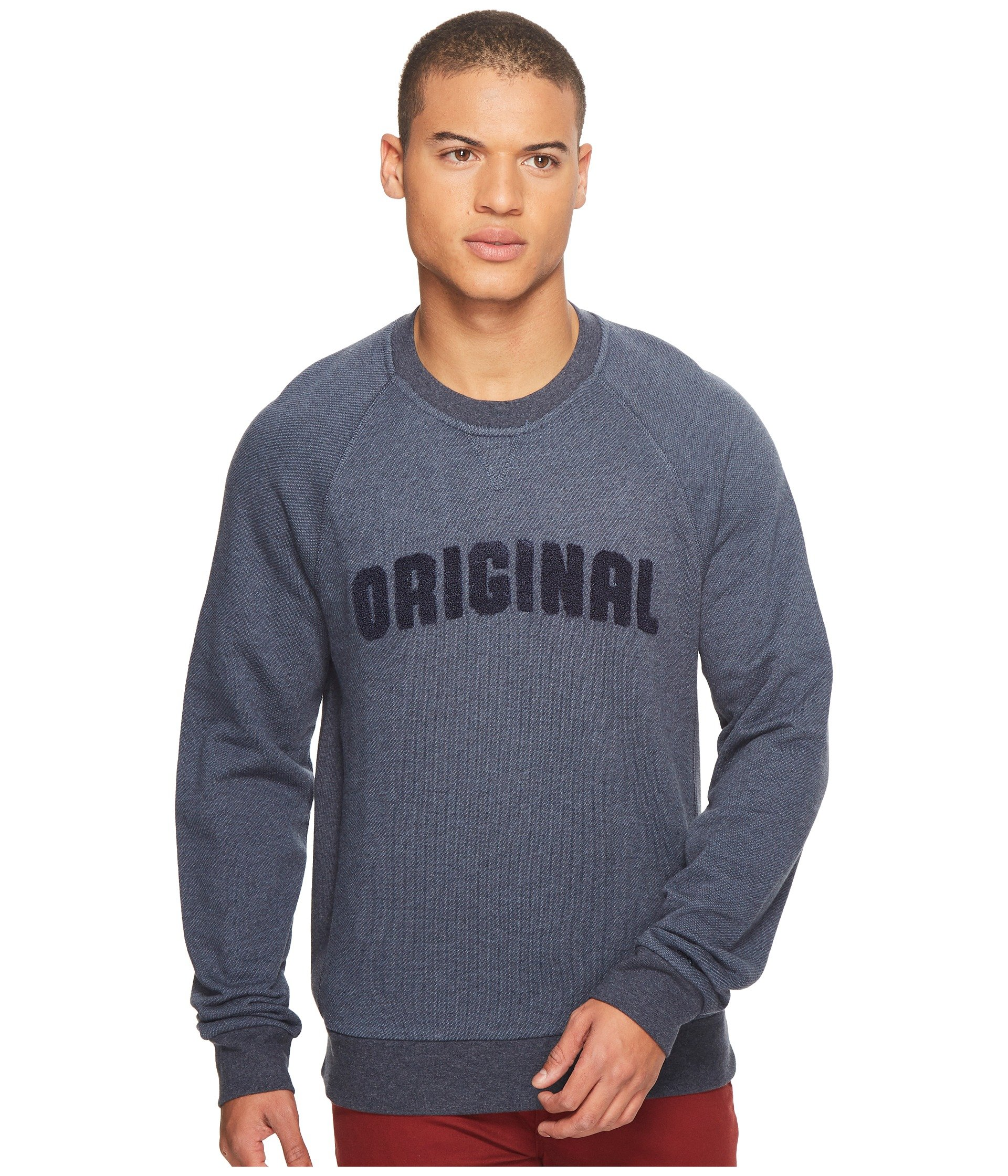 Buzo o Chaqueta Deportiva para Hombre Original Penguin Vintage Gym Long Sleeve Boucle Sweatshirt  + Original Penguin en VeoyCompro.net