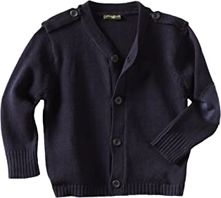 Eddie Bauer Boys' Sweater (More Styles Available), Classic Black, 4