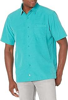 Quiksilver Waterman Men's Centinela 4 Button Down Dress Shirt