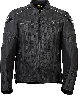 ScorpionExo Clutch Men's Leather Sport Motorcycle Jacket (Phantom, Medium)