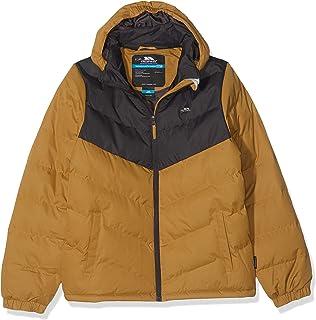 Trespass Luddi Chaqueta de invierno acolchada e impermeable con capucha desmontable. Unisex niños