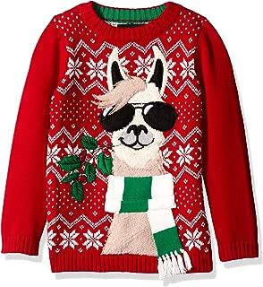Boys Ugly Christmas Sweater Llama