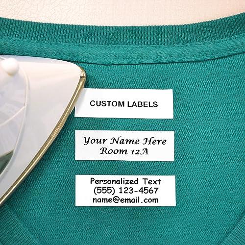 Arts,crafts & Sewing Apparel Sewing & Fabric Beautiful Custom Logo Garment Shirt Jacket Shoe Labels Sewing On Shoe Labels Laundry Labels Labels For Clothing In Pain