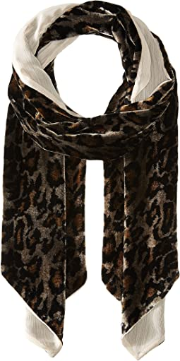Collection XIIX - Animal Velvet Slimy Scarf