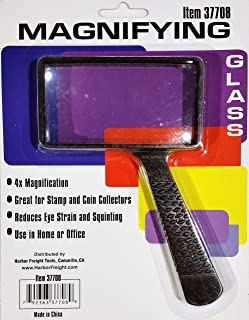 Magnifying Glass - Reduces Eye Strain and Squinting