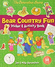The Berenstain Bears Bear Country Fun Sticker and Activity Book (Berenstain Bears/Living Lights: A Faith Story)