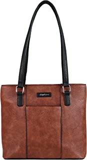 Concealed Carry Purse - YKK Locking Alayne Concealed Carry Tote by Lady Conceal