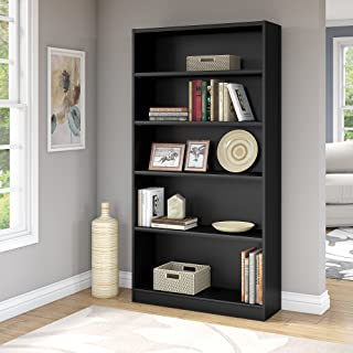 Bush Business Furniture Universal 72H Bookcase in Black