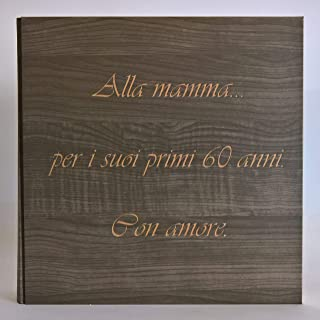 Album fotografico artigianale in carta effetto LEGNO con frase incisa e personalizzabile REGALO prima comunione, compleann...