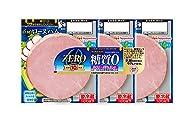 [冷蔵] 日本ハム ZERO糖質0 ロースハム 38g×3
