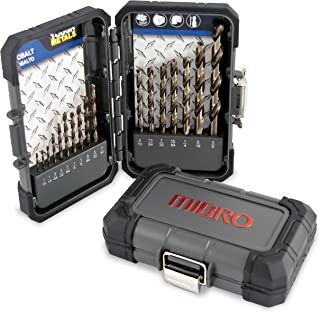 MIBRO 895240 Ultra Masonry Rotary Percussion Drill Bit Set 5 Pieces