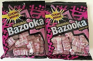 Original Bazooka Bubble Gum 4 Oz Bag (2 Pack - 8 Oz Total)
