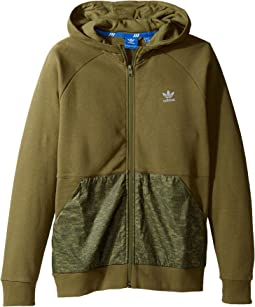 adidas Originals Kids - Sport Luxe Mantra Full Zip Hoodie (Little Kids/Big Kids)