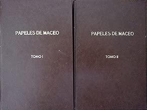 Papeles de maceo.cartas.edicion del centenario del nacimiento del mayor general antonio maceo y grajales.2 vols.primera edicion,1948.