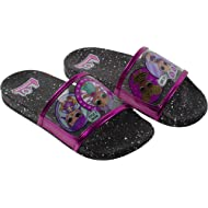 L.O.L Surprise! Girl's Sandal, Mix Match Baby Cat Merbaby Super BB Crystal Queen Cosmic Queen and...