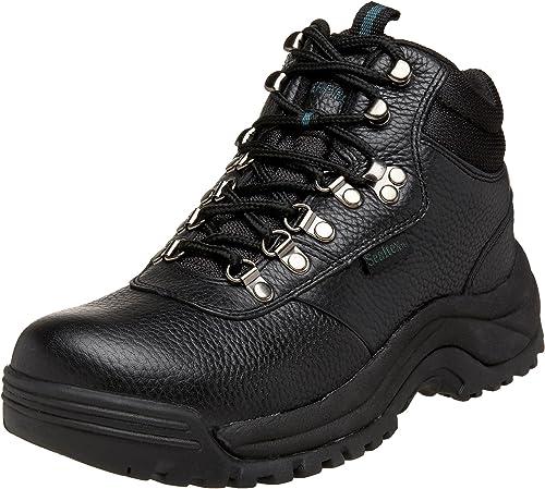 Propét herren Punta Cerrada Piel Stiefel de Moda, schwarz, Größe 12