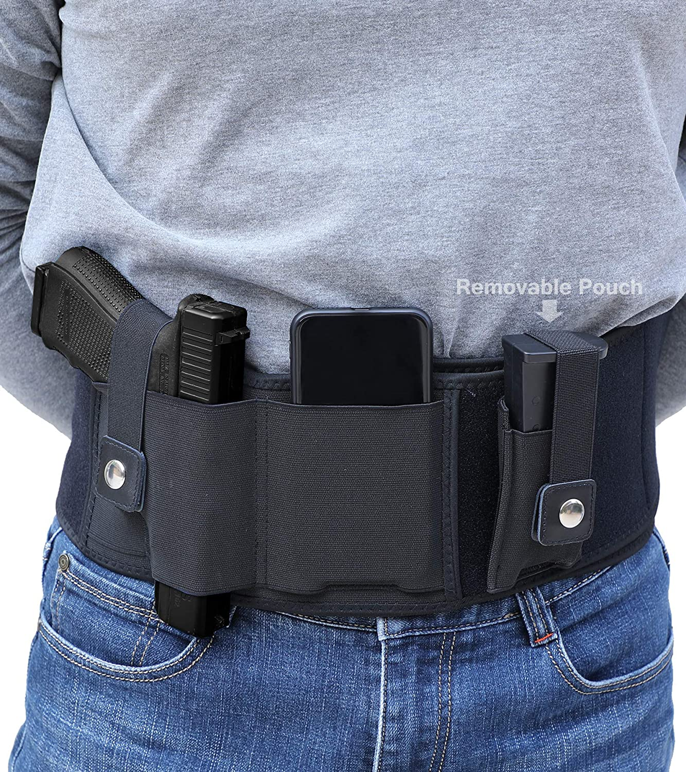 Belly Band Holster Max 89% OFF for f Free shipping anywhere in the nation Concealed Carry IWB