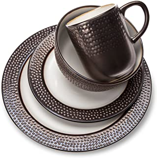 Threshold Barnet Bronze 16 piece Dinnerware Set