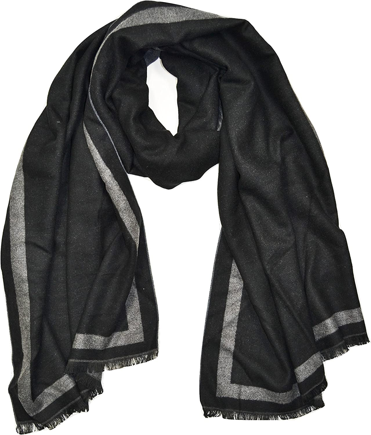 CASHMERE Two-Sided Fashion Man's Scarf, Fashion Scarf for Men, Men Scarves