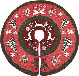 Best poinsettia christmas tree skirt Reviews
