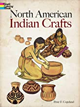 North American Indian Crafts (Dover Coloring Books)