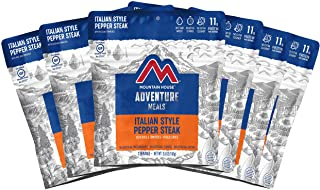 Mountain House Italian Style Pepper Steak| Freeze Dried Backpacking & Camping Food |6-Pack| Gluten-Free
