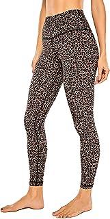 CRZ YOGA Women's Naked Feeling I 7/8 High Waisted Pants Yoga Workout Leggings - 25 Inches