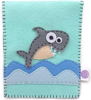 Felt Fetish Sanitary Napkin Pad Pouch Holder (Shark Attack)