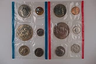 1976 Mint Set P and D Mint Coins Uncirculated