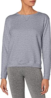 (lightsteel, m) - Hanes Women's Fleece V-Notch Sweatshirt