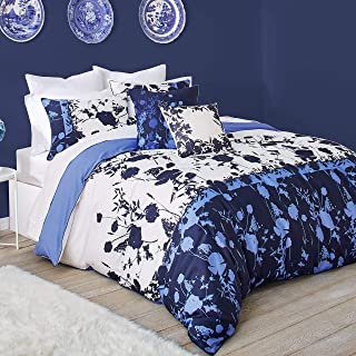 Ted Baker Bluebell Cotton 3 Piece Comforter Set with Shams, Full/Queen, Blue
