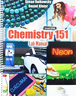 chemistry 151 lab manual