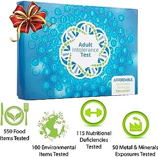 5Strands | Food & Environmental Intolerance | Nutritional Deficiencies | Metal & Mineral Exposure | Test 815 Total Items | Hair Analysis | Results in 1-2 Weeks | Home Test Kit | Adult Deluxe Test