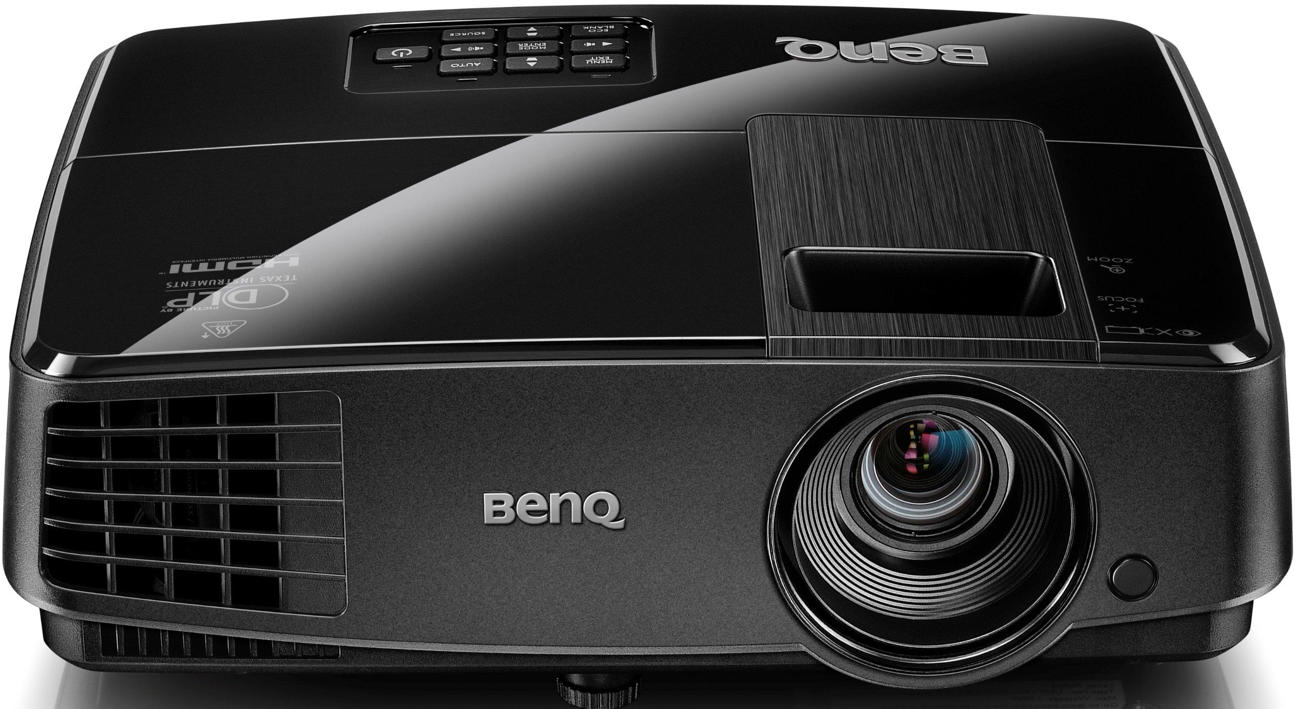 Benq MS521P - Proyector DLP (3000 lúmenes ANSI, DLP, SVGA (800x600 ...