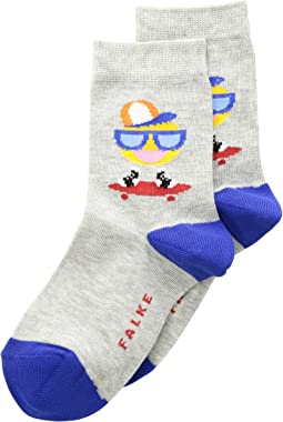Falke Skating Smiley Sock (Little Kid/Big Kid)