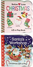 2 Pack Christmas Lift-a-Flap Board Books (Chunky Lift a Flap)