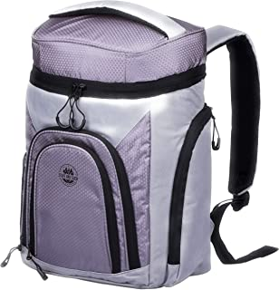 Leakproof Cooler Backpack - with 2 Cooler Compartments for the Outdoors.