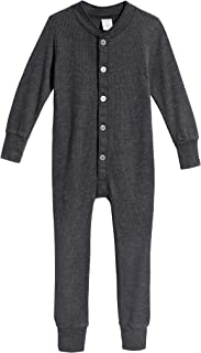City Threads Boys Girls' Union Suit Thermal Underwear Long John Made in USA