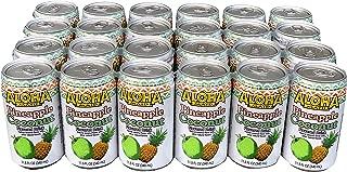 Aloha Maid Juice 11.5-Ounce (Pack of 24) (Pineapple Coconut)
