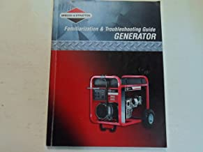 2007 Briggs & Stratton Familiarization & Troubleshooting Guide Generator WORN 07