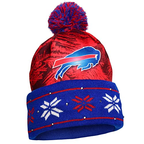 a07383606b6 FOCO NFL Unisex Big Logo Light Up Printed Beanie