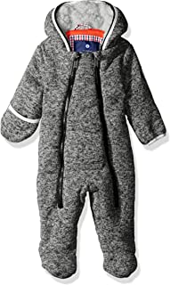 Ben Sherman Baby Boys' Sweater Fleece Pram, Heather