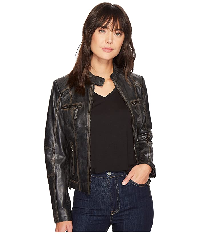 Scully  Carmen Chic Moto (Black) Womens Jacket