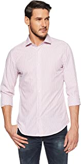 United Colors of Benetton Men's Geometric Print Slim Fit Casual Shirt