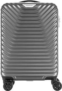 American Tourister Ge4 07 001 SkyCove Hardside Spinner Luggage 55cm with tsa lock - Grey