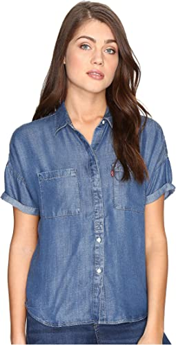 Levi's® Womens Short Sleeve Holly Shirt