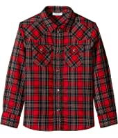 Check Tartan Button Down (Toddler/Little Kids)